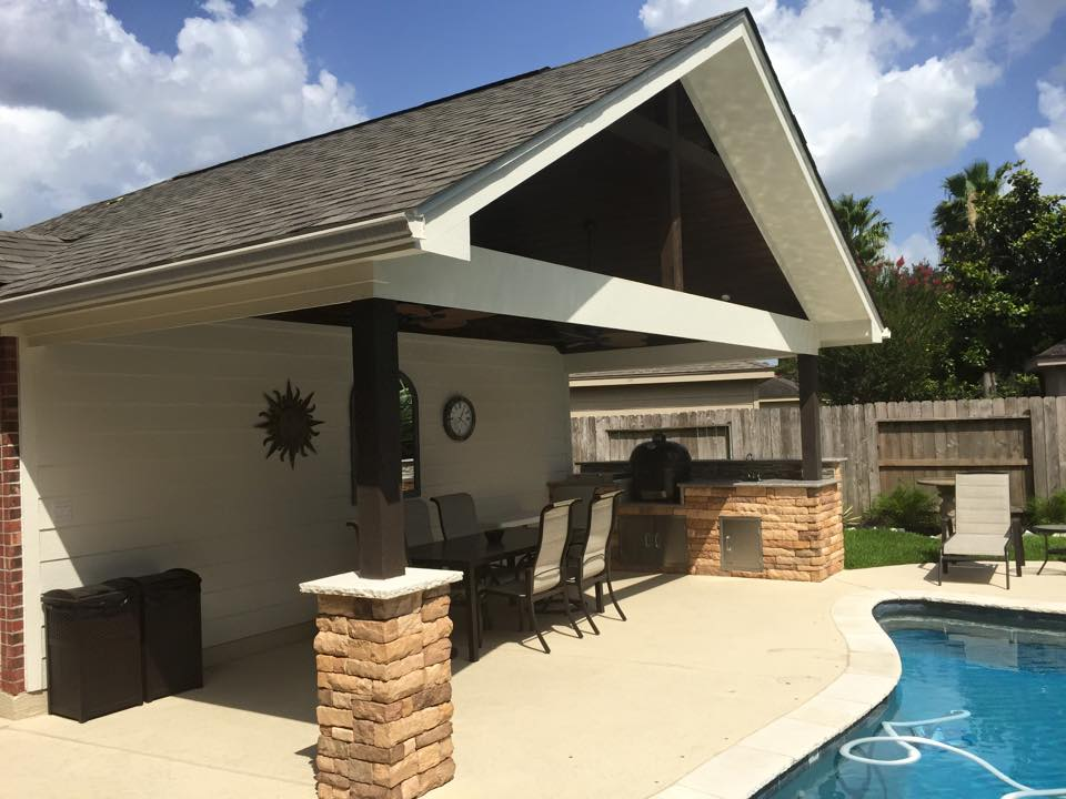 Charmant Patio Cover Design And Installation