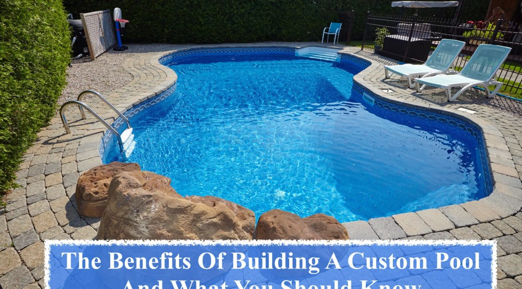 building a custom pool