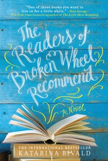 Sahar's Reviews 2016 01 28 Book Review The Readers of Broken Wheel Recommend Katrina Bivald
