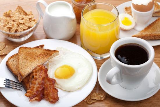 توتر الأعصاب - وسائل علاج طبيعي للتوتر والقلق والخوف – أهمية وجبة الإفطار