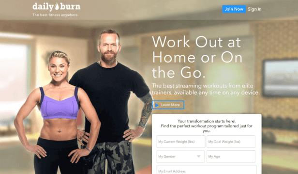 تطبيق Dailyburn