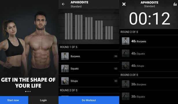 تطبيق Freeletics Bodyweight