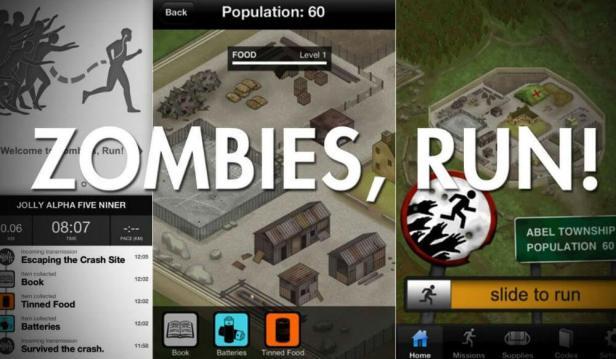 تطبيق Zombies-Run