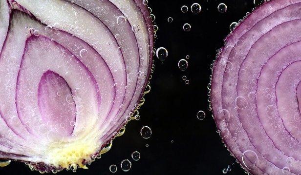 البصل مضاد للبكتريا