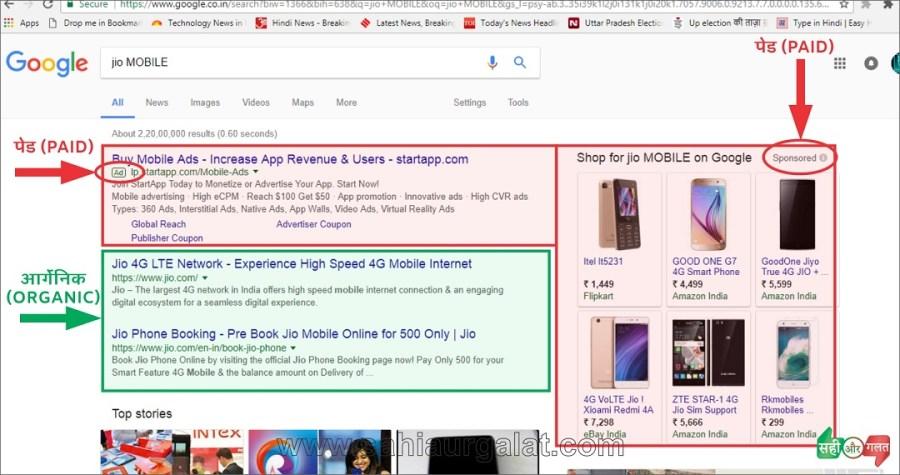 What is Search Engine Optimization - SEO क्या है ?