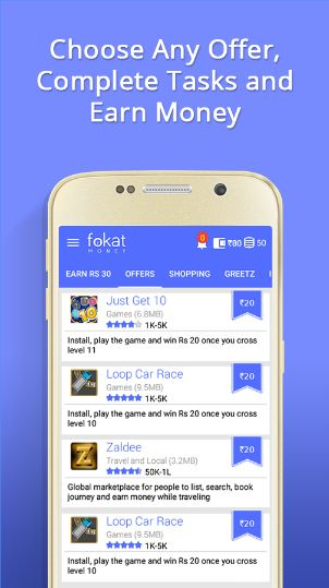 fokat Mobile Application