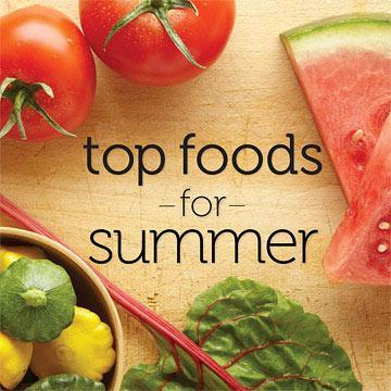 Diet in summers