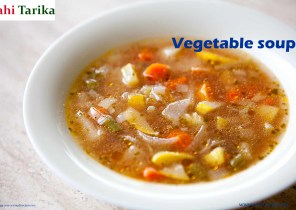 vegetable soup recipe in hindi