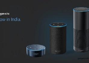 भारत में लॉन्च हुए अमेज़न इको, इको डॉट और इको प्लस