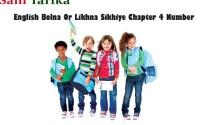 English Bolna Likhna Sikhe Chapter 4 Number