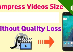 Video compress without Software