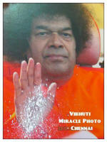 Sri Sathya Sai Baba Vibhuti Miracle Photo