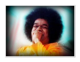 laughing Bhagawan Sri Sathya Sai Baba