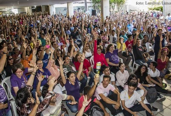 Assembleia dos Professores do RN deflagrou greve por tempo indeterminado