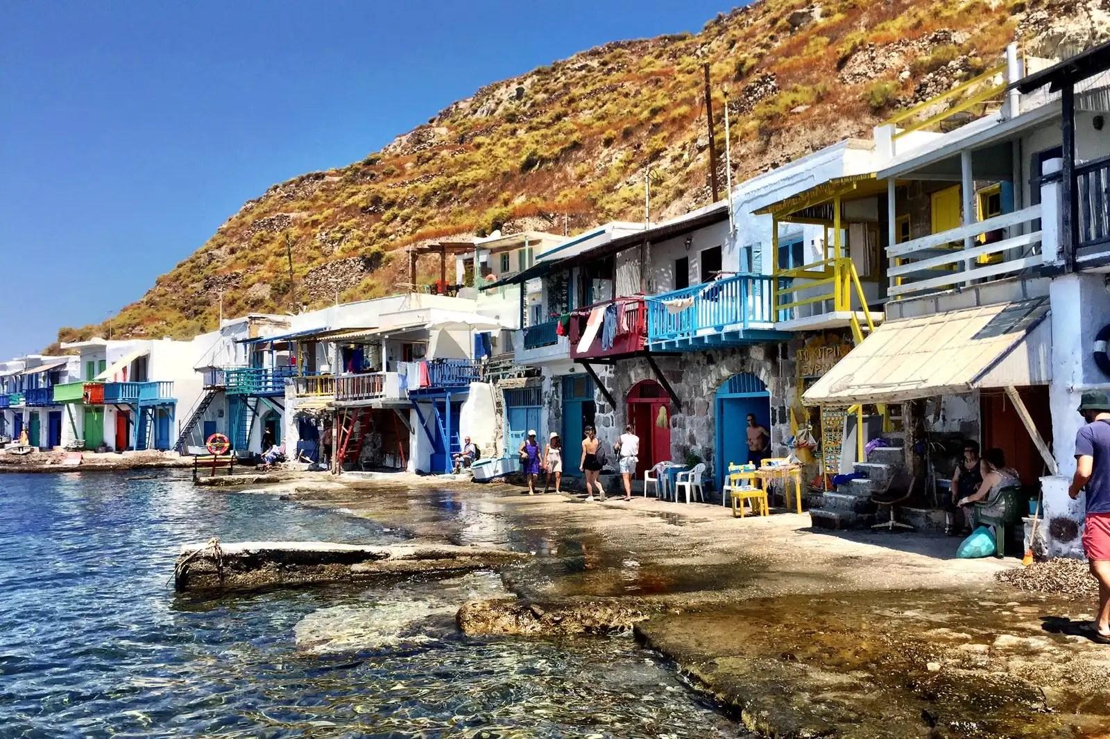 La Grecia dal mare. Il coraggio di cambiare rotta - Settimana 1