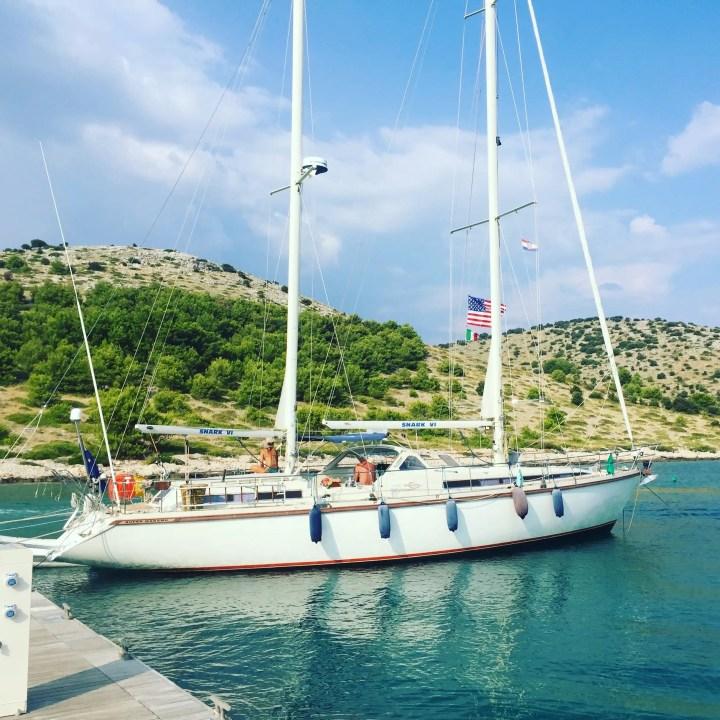 La Croazia in barca a vela, attraversando l'Adriatico