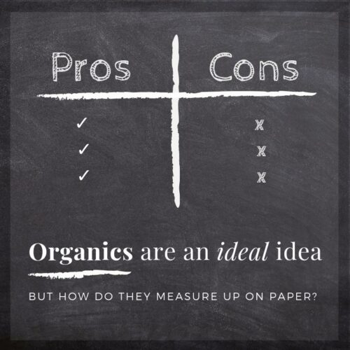 Organic production, has its pros cons, but how does it measure up on paper?