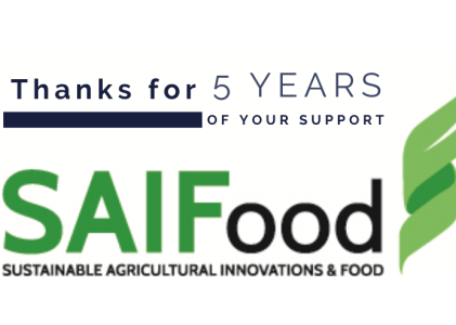 Celebrating 5 Years of SAIFood Blogs