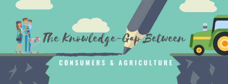 Consumers knowledge gap and agriculture