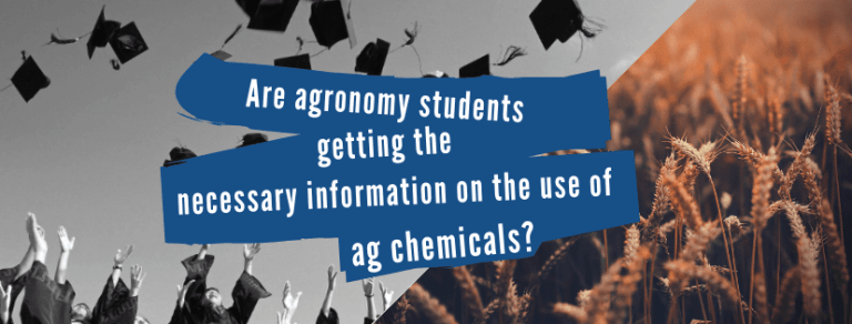 chemical knowledge of agronomy students