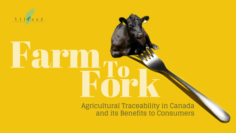 Farm to fork - traceability of Canadian Ag
