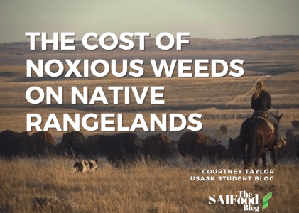 The Cost of Noxious Weeds on Native Rangelands