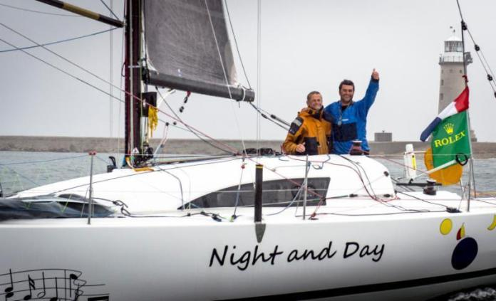 The 2013 race saw the first overall winner sailing doublehanded - Pascal Loison and son Alexis aboard their JPK 10.10 Night and Day - photo © Rolex / Kurt Arrigo