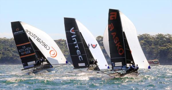 18ft Skiff: End to end wins in both races in Spring Champs