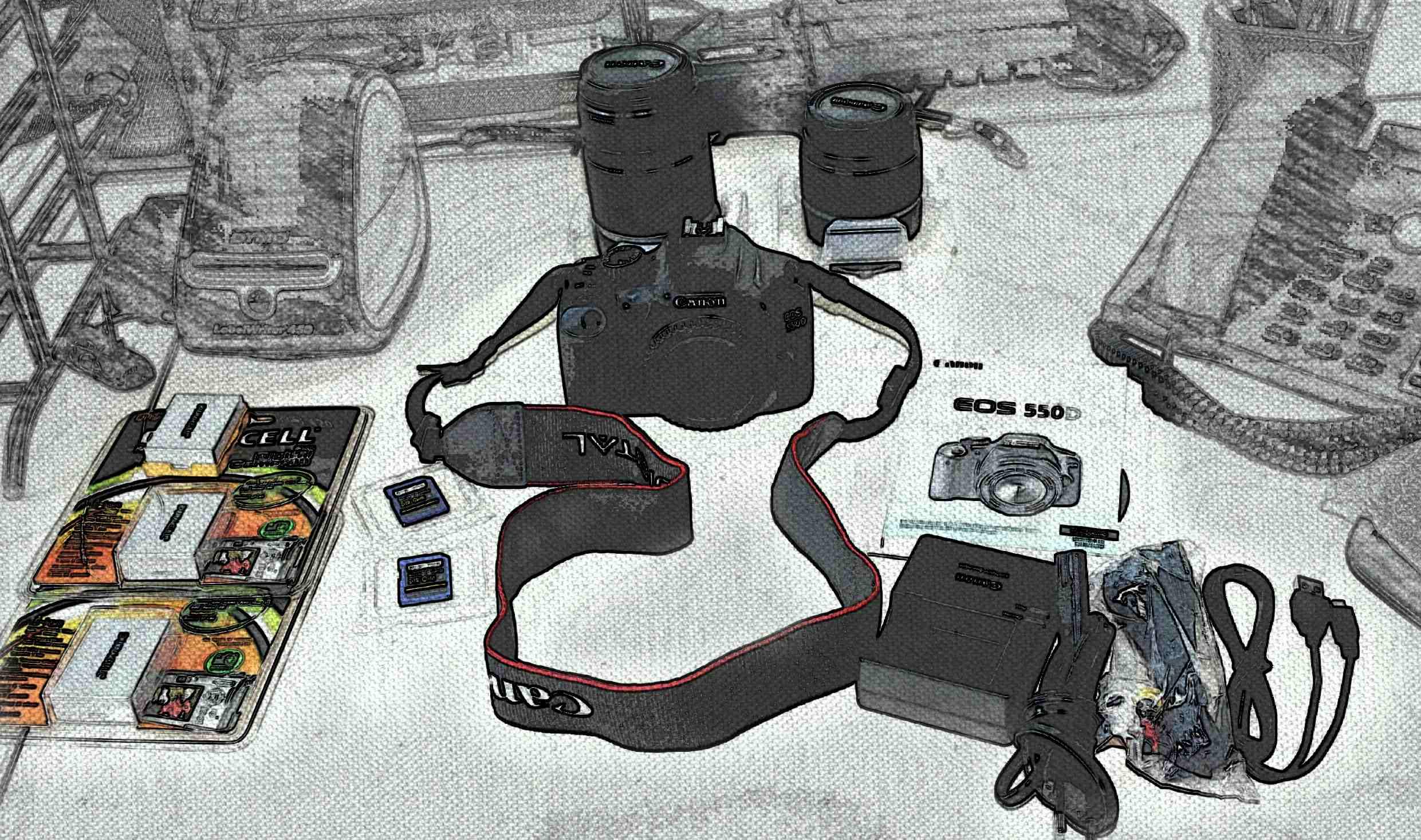 Esempio di Cross Selling - macchina fotografica e accessori [Foto di Daniele Catarozzi]