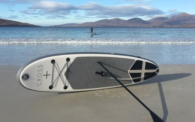 Testing out our new paddle boards