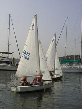Sail Blue Jay Nationals At Northport Yacht Club