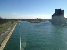 View from Bridge of Welland Canal