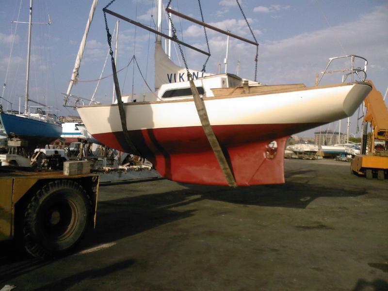 1971 Philip Rhodes Sailboat Ranger 286 Sailboat For Sale In