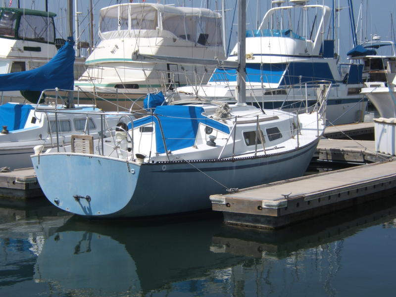 1975 Capital Yachts Newport 28 Sailboat For Sale In California