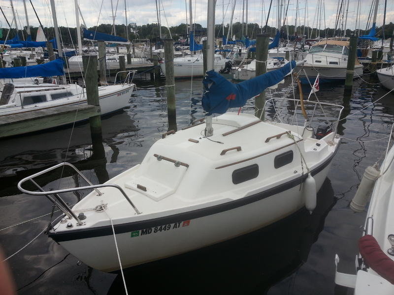 1981 Sovereign 50 Sailboat For Sale In Maryland