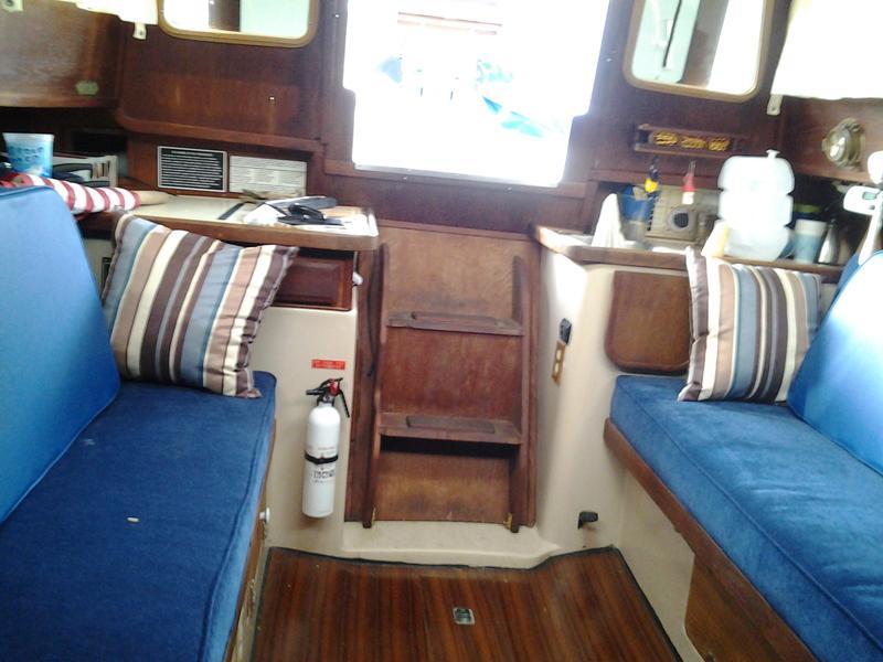 1985 Capital Yachts Gulf 27 Sailboat For Sale In California