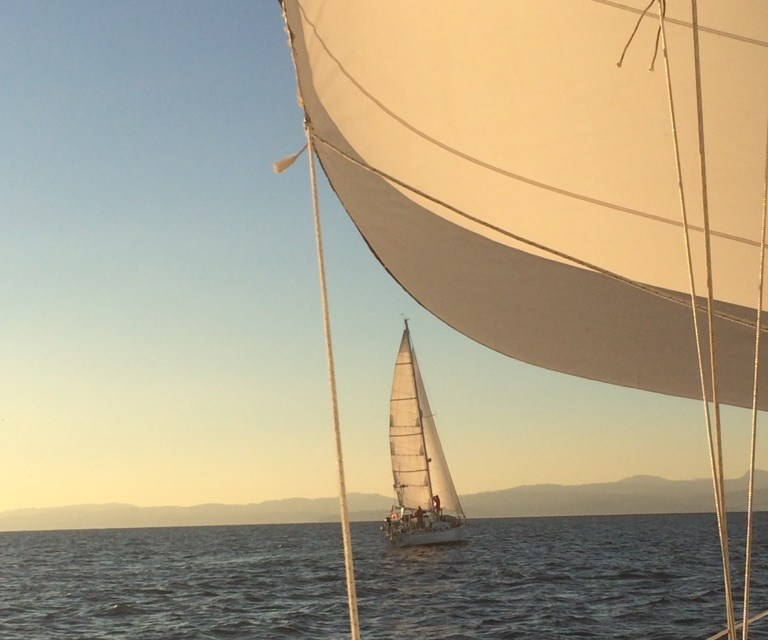 First sail of the year