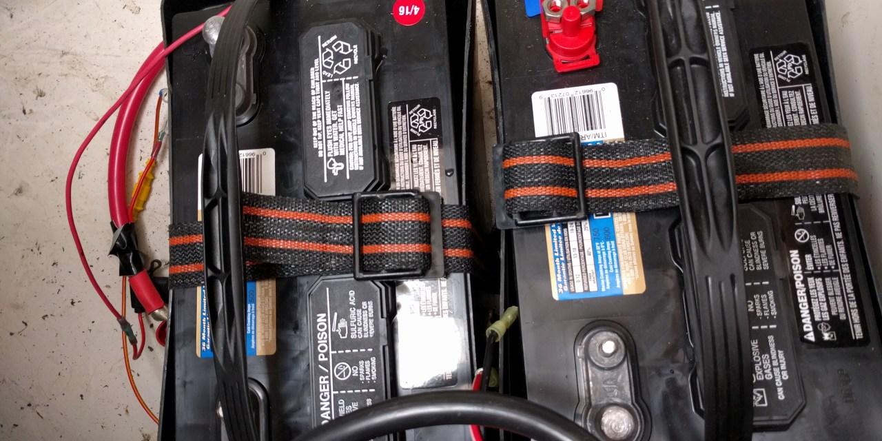 Upgrading battery bank + mantus goodies