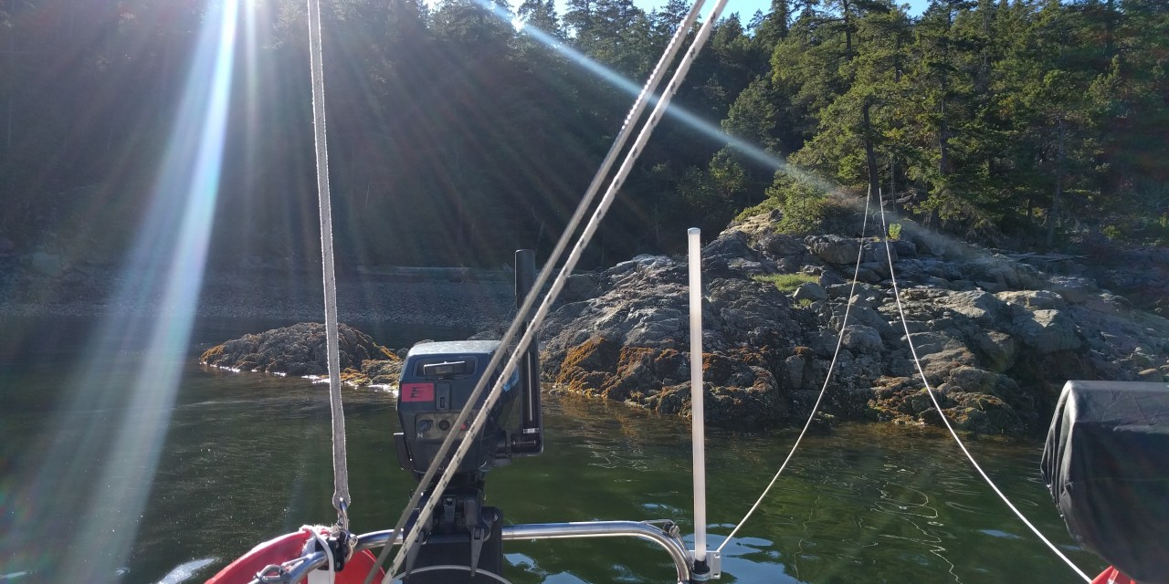 Days 1 to 4: Travelling through the Gulf Islands