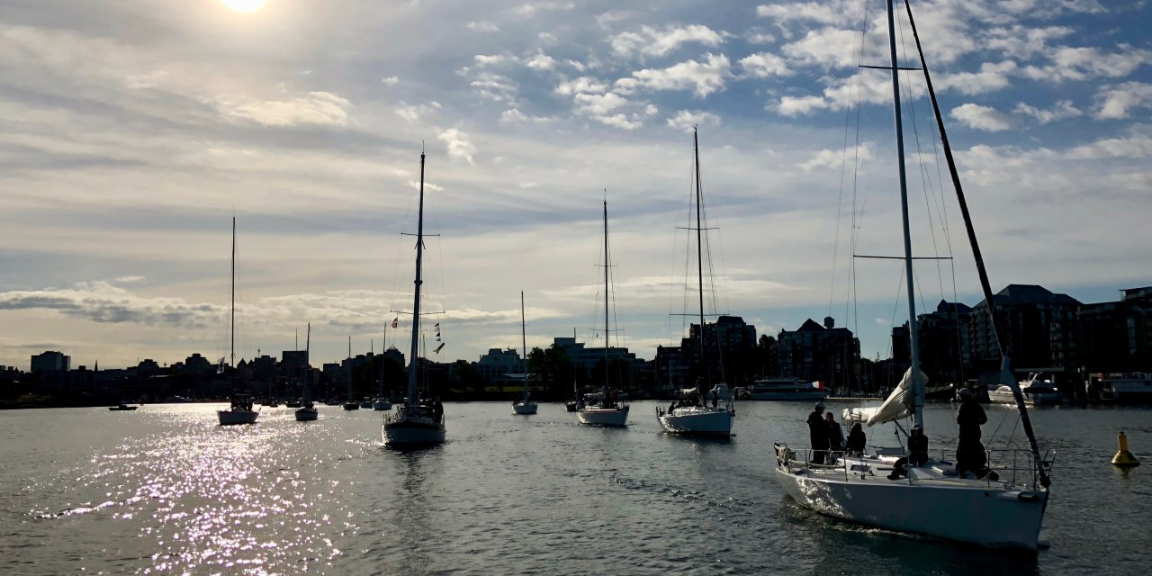 Finished work and Swiftsure 2018