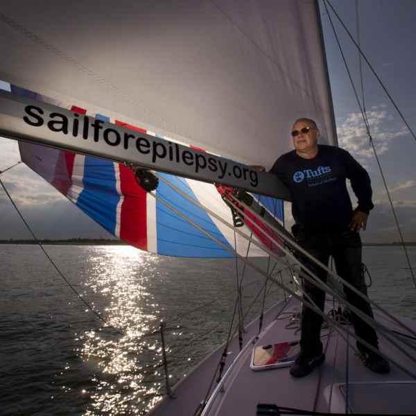 Neuroscientist Phil Haydon Sets Sail to Talk About Epilepsy