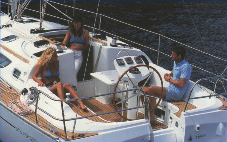 Jeanneau Sun Odyssey 35 Bareboat Charter Greece Yacht
