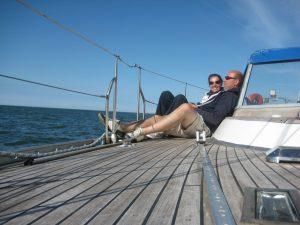 Nadine en Michel - Aquamarijn
