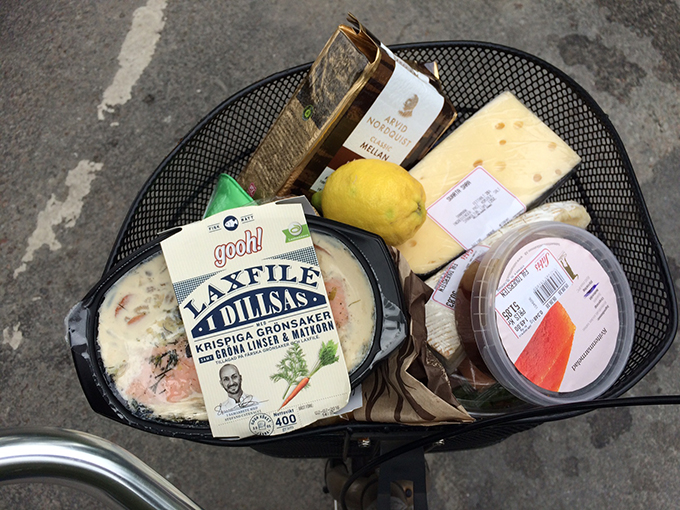 Eating like a local: my pannier in Stockholm, thanks to Sarbis.