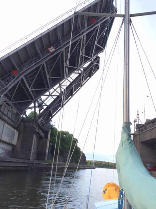 Lift that bridge, will ya?