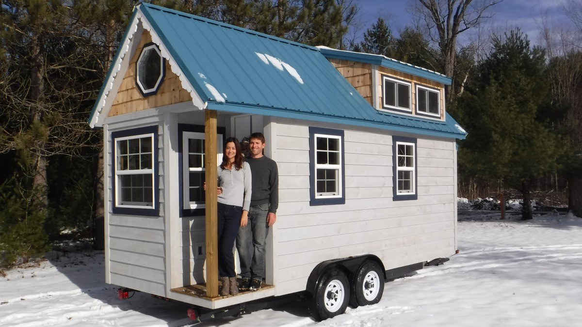 Tiny House Exterior - Complete!