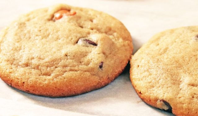 Butterscotch Chocolate Chip Cookie