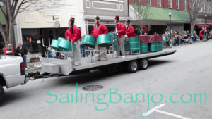 2018 Sudan Shriner's Parade in New Bern, NC Steel Drum Band