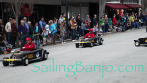 2018 Sudan Shriner's Parade in New Bern, NC dragsters