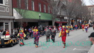 2018 Sudan Shriner's Parade in New Bern, NC Dunn Clowns